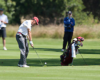 Stanford, Ca - Thursday, May 18, 2012: Stanford Golf plays in the NCAA Regionals held at the Stanford Golf Course. Cameron Wilson