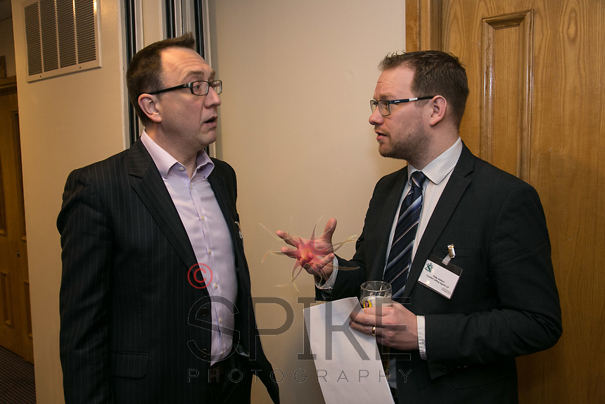 Matt Arnold of Five Nine Five and Phil Ashford of Comfort Lettings