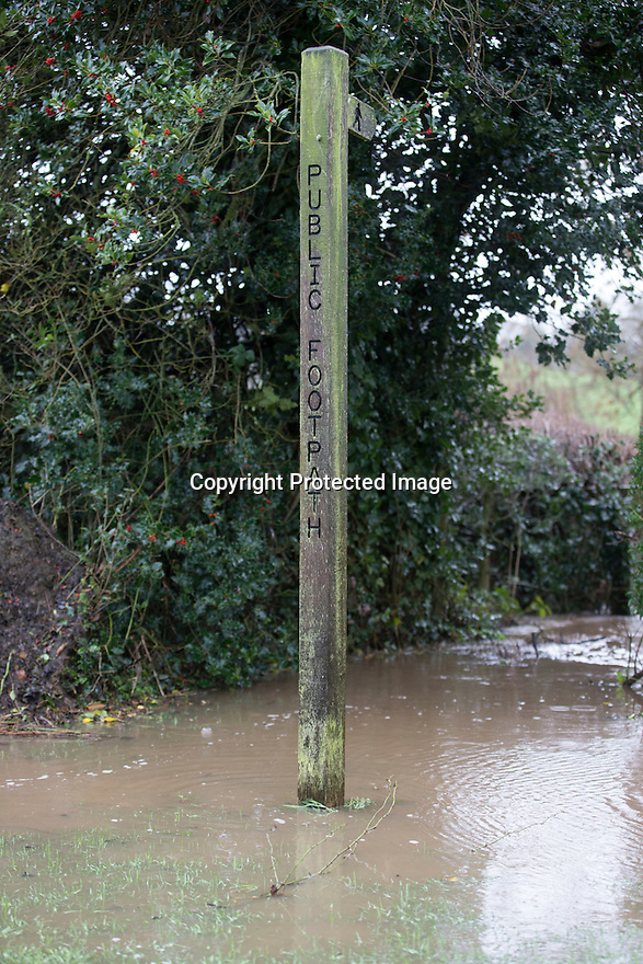 07/01/16<br /> <br /> Flooding between Shirley and Hollington, Ashbourne, Derbyshire.<br /> <br /> All Rights Reserved: F Stop Press Ltd. +44(0)1335 418365   +44 (0)7765 242650 www.fstoppress.com