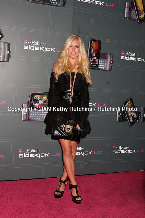 Heidi Montag arriving at the  T-Mobile Sidekick LX Launch Event at  Paramount Studios in.in Los Angeles, CA on May 14, 2009 .©2009 Kathy Hutchins / Hutchins Photo...                .