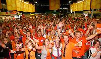 22-9-07, Netherlands, Rotterdam, Daviscup NL-Portugal, Feest