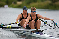 Race: 148  2x (Band 2)  Final<br /> <br /> Peterborough Summer Regatta 2018 - Saturday<br /> <br /> To purchase this photo, or to see pricing information for Prints and Downloads, click the blue 'Add to Cart' button at the top-right of the page.