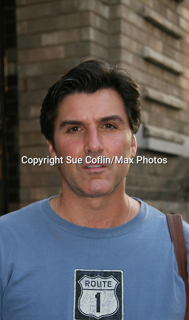 Vincent Irizarry at the All My Children and The View Studios, New York City, New York (Photo by Sue Coflin/Max Photos)