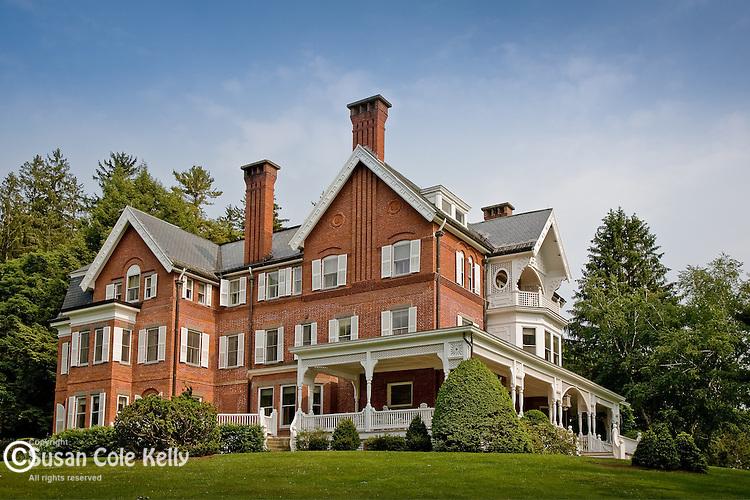 Mansion at the Marsh-Billings-Rockerfeller National Park, Woodstock, VT, USA