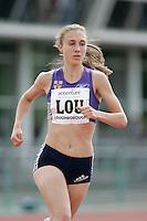 20 MAY 2007 - LOUGHBOROUGH, UK - Lisa Dobriskey (LOU) - 3000m - Loughborough International Athletics. (PHOTO (C) NIGEL FARROW)