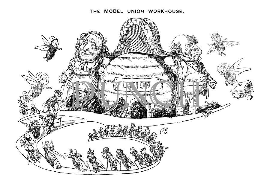 "The Model Union Workhouse (Illustrated capital ""T"")"