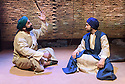 Theatre Accord, in association with Tara Arts, presents PARADISE OF THE ASSASSINS, based on a novel by Abdul Halim Sharar, adapted and directed by Anthony Clark. Design is by Matilde Marangoni. This production marks the opening of the new Tara Theatre. Picture shows: Naveed Khan (Ali Vujoodi), Asif Khan (Hussain)