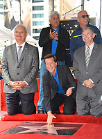 Jeff Dunham, Jay Leno, Howie Mandel, Jeff Zarrinnam, Leron Gubler at the Hollywood Walk of Fame Star Ceremony honoring ventriloquist Jeff Dunham, Los Angeles, USA 21 Sept. 2017<br /> Picture: Paul Smith/Featureflash/SilverHub 0208 004 5359 sales@silverhubmedia.com