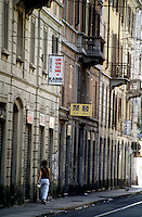 milano, quartiere sarpi - chinatown. via bramante --- milan, sarpi district - chinatown. bramante street