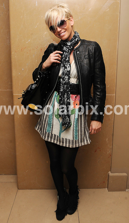 **ALL ROUND EXCLUSIVE PICTURES FROM SOLARPIX.COM**.**WORLDWIDE SYNDICATION RIGHTS**.Sarah Harding from Girls Aloud pictured at the Mayfair Hotel in central London, on her 27th birthday. London, UK. 17th November 2008..JOB REF: 7922 SSD     DATE: 17_11_2008.**MUST CREDIT SOLARPIX.COM OR DOUBLE FEE WILL BE CHARGED* *UNDER NO CIRCUMSTANCES IS THIS IMAGE TO BE REPRODUCED FOR ANY ONLINE EDITION WITHOUT PRIOR PERMISSION*