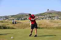 Rory Patterson playing with Nicolas Colsaerts (BEL) during the ProAm of the 2018 Dubai Duty Free Irish Open, Ballyliffin Golf Club, Ballyliffin, Co Donegal, Ireland.<br /> Picture: Golffile | Jenny Matthews<br /> <br /> <br /> All photo usage must carry mandatory copyright credit (&copy; Golffile | Jenny Matthews)