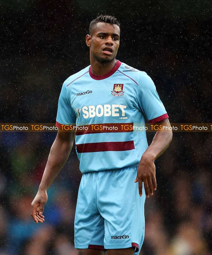 Ricardo Vaz Te of West Ham - Southend United vs West Ham United, Pre-season Friendly at Roots Hall, Southend - 14/07/12 - MANDATORY CREDIT: Rob Newell/TGSPHOTO - Self billing applies where appropriate - 0845 094 6026 - contact@tgsphoto.co.uk - NO UNPAID USE..