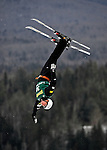 19 January 2008: Jana Lindsey from the USA jumps in the Qualification Round of the FIS World Cup Freestyle Ladies' Aerial Competition at the MacKenzie Ski Jump Complex in Lake Placid, New York, USA...Mandatory Photo Credit: Ed Wolfstein Photo