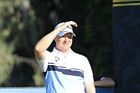 Richard McEvoy (ENG) tees off the 6th tee during Saturday's Round 3 of the 2018 Turkish Airlines Open hosted by Regnum Carya Golf &amp; Spa Resort, Antalya, Turkey. 3rd November 2018.<br /> Picture: Eoin Clarke | Golffile<br /> <br /> <br /> All photos usage must carry mandatory copyright credit (&copy; Golffile | Eoin Clarke)