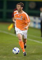Brad Davis crosses the ball. D.C. United defeated the Houston Dynamo 2-0 at RFK Stadium in Washington, D.C. on April 15, 2006