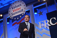 Washington, DC - September 25, 2015: Sen. Ted Cruz addresses attendees of the Values Voter Summit at the Omni Shoreham Hotel in the District of Columbia, September 25, 2015.  (Photo by Don Baxter/Media Images International)