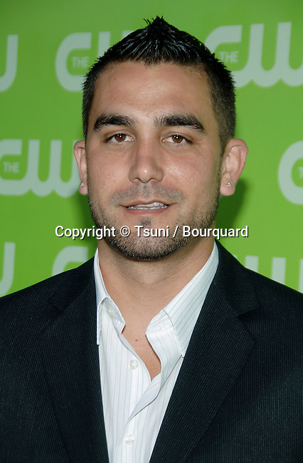 J. Boogie ( CW Now )  arriving at the tca ( television critic association ) CW Summer party on the Fountain Plazza @ The Pacific design Center in Los Angeles.<br /> <br /> headshot<br /> eye contact