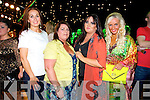 Deirdre Murphy, Joan Ahrern, Kay Hurley, Sandra Breen at the Austin Stacks Strictly come Dancing Finals at the Rose Dome on Saturday