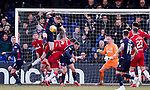 08.03.2020: Ross County v Rangers: Rangers man the barricades against a late Ross County attack