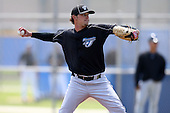 March 29, 2010:  Pitcher Ryan Shopshire of the Toronto Blue Jays organization during Spring Training at the Englebert Minor League Complex in Dunedin, FL.  Photo By Mike Janes/Four Seam Images
