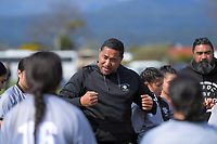 Action from the 2019 Hurricanes Youth Council Under-15 Girls' Rugby Tournament match between St Mary's College and Rahui at Playford Park in Levin, New Zealand on Tuesday, 3 September 2018. Photo: Dave Lintott / lintottphoto.co.nz