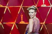 www.acepixs.com<br /> <br /> February 26 2017, Hollywood CA<br /> <br /> Scarlett Johansson arriving at the 89th Annual Academy Awards at Hollywood &amp; Highland Center on February 26, 2017 in Hollywood, California.<br /> <br /> By Line: Z17/ACE Pictures<br /> <br /> <br /> ACE Pictures Inc<br /> Tel: 6467670430<br /> Email: info@acepixs.com<br /> www.acepixs.com