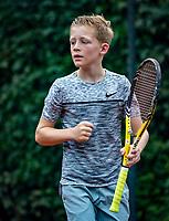 Hilversum, Netherlands, August 8, 2018, National Junior Championships, NJK, Job Weening (NED)<br /> Photo: Tennisimages/Henk Koster