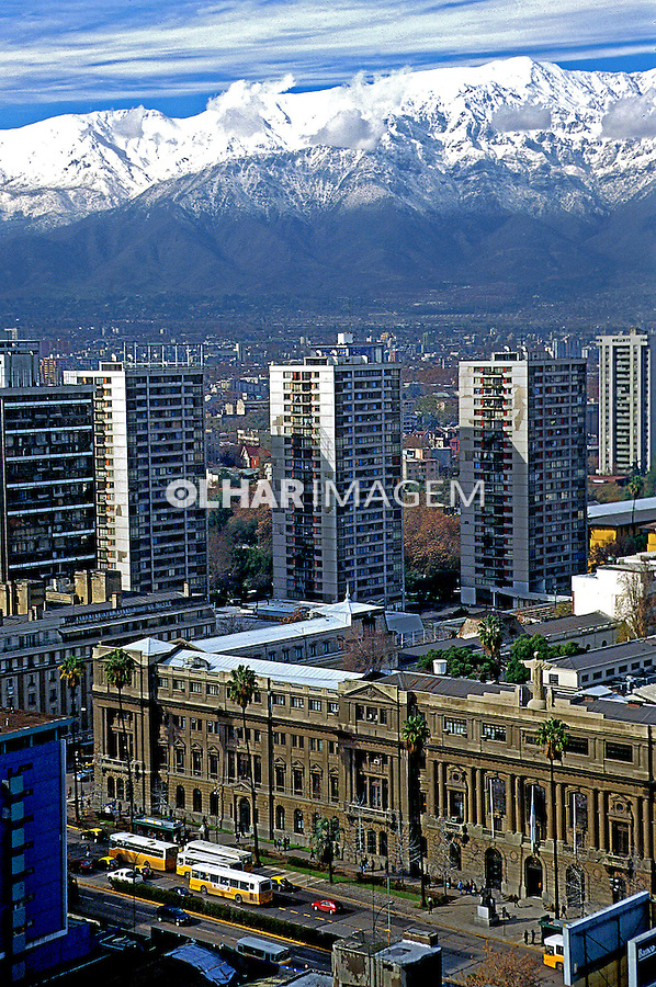 Universidade Católica em Santiago do Chile. 1999. Foto de Rogério Reis.