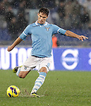 Calcio, Serie A: Lazio vs Roma. Roma, stadio Olimpico, 11 novembre 2012..Lazio midfielder Hernanes, of Brazil, in action during the Italian Serie A football match between Lazio and AS Roma, at Rome's Olympic stadium, 11 November 2012..UPDATE IMAGES PRESS/Riccardo De Luca