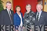Pioneer Social : Attending the North Kerry Pioneer Association annual social at the Golf Hotel, Ballybunion on Friday night last were John & Jenna Leen, Balyheigue & Kitty & Frank Falvey, Ballygeigue.