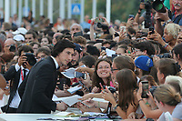 VENICE, ITALY - AUGUST 29: Adam Driver walks on Marriage Story red carpet during the 76th Venice Film Festival at Sala Grande on August 29, 2019 in Venice, Italy. Photo Mark Cape/Insidefoto)<br /> Venezia 29/08/2019