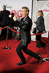 "HOLLYWOOD, CA. - November 09: Billy Idol arrives at the ""Old Dogs"" Premiere at the El Capitan Theatre on November 9, 2009 in Hollywood, California."