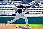 8 March 2010: Florida Marlins' pitcher Tim Wood in action during a Spring Training game against the Washington Nationals at Space Coast Stadium in Viera, Florida. The Marlins defeated the Nationals 12-2 in Grapefruit League action. Mandatory Credit: Ed Wolfstein Photo
