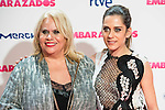 """Carmina Barrios and Maria Leon attends to the premiere of the film """"Embarazados"""" at Capitol Cinemas in Madrid, January 27, 2016.<br /> (ALTERPHOTOS/BorjaB.Hojas)"""