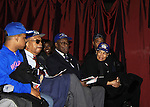 - Layon Gray's Black Angels Over Tuskegee goes into its 4th year as they celebrate their 3rd Anniversary on March 2, 2013 at the Actors Temple Theatre, New York City, New York.  (Photo by Sue Coflin/Max Photos)
