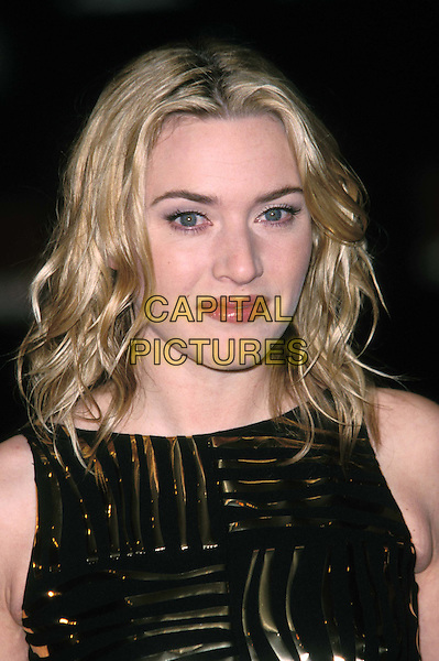 KATE WINSLET.BAFTA Arrivals at Odeon, Leicester Square.Ref: 11497.headshot, portrait.www.capitalpictures.com.sales@capitalpictures.com.© Capital Pictures.