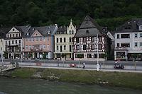 General view of St Goar, Rhineland-Palatinate, Germany.<br /> <br /> Gesamtansicht von Sankt Goar, Rheinland-Pfalz, Deutschland.