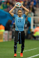 Martin Caceres of Uruguay