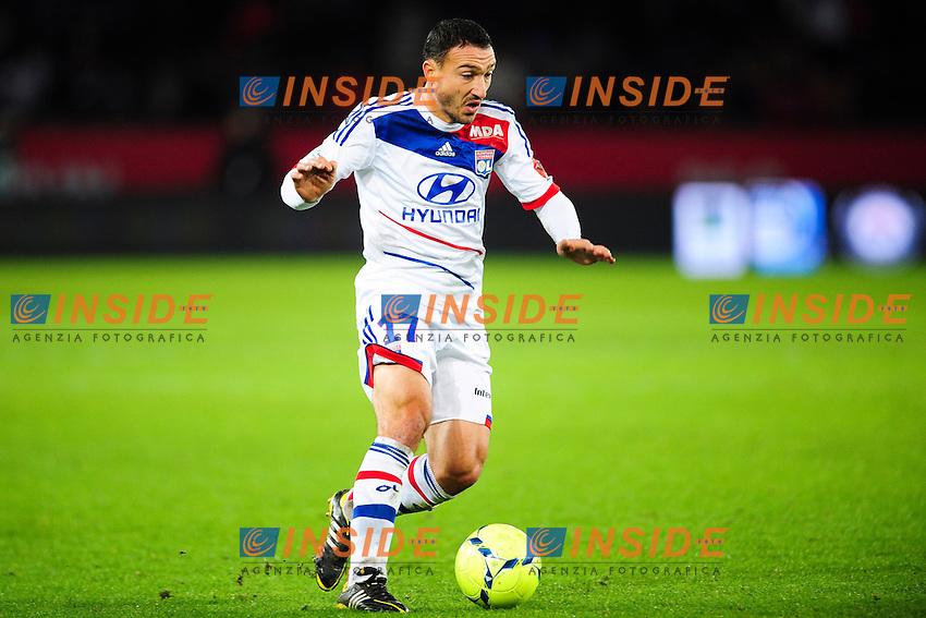 Steed Malbranque (OL) .Football Calcio 2012/2013.Ligue 1 Francia.Foto Panoramic / Insidefoto .ITALY ONLY