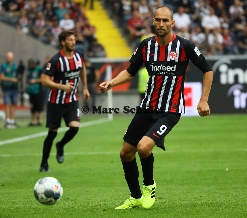 Bas Dost (Eintracht Frankfurt) - 01.09.2019: Eintracht Frankfurt vs. Fortuna Düsseldorf, Commerzbank Arena, 3. Spieltag<br /> DISCLAIMER: DFL regulations prohibit any use of photographs as image sequences and/or quasi-video.