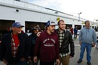 IMSA WeatherTech SportsCar Championship<br /> The Roar Before the Rolex 24<br /> Daytona International Speedway<br /> Daytona Beach, FL USA<br /> Sunday 7 January 2018<br /> #23 United Autosports Ligier LMP2, P:  Fernando Alonso, fans<br /> World Copyright: Michael L. Levitt<br /> LAT Images