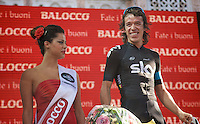 2013 Giro d'Italia.stage 21: Riese Pio X - Brescia..Rigoberto Uran (COL) takes a proud 2nd overall