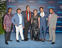 "HOLLYWOOD, CA - NOVEMBER 14: Te Vaka attend the AFI FEST 2016 Presented By Audi - Premiere Of Disney's ""Moana"" at the El Capitan Theatre in Hollywood, California on November 14, 2016. Credit: Koi Sojer/Snap'N U Photos/MediaPunch"