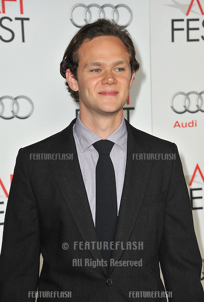 "Joseph Cross at the AFI Fest premiere of his movie ""Lincoln"" at Grauman's Chinese Theatre, Hollywood..November 8, 2012  Los Angeles, CA.Picture: Paul Smith / Featureflash"