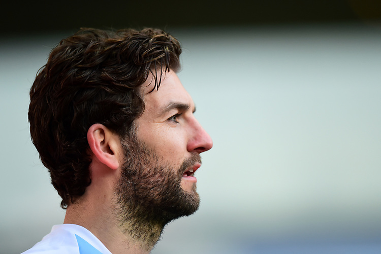 Blackburn Rovers' Charlie Mulgrew looks on<br /> <br /> Photographer Richard Martin-Roberts/CameraSport<br /> <br /> The EFL Sky Bet Championship - Blackburn Rovers v West Bromwich Albion - Tuesday 1st January 2019 - Ewood Park - Blackburn<br /> <br /> World Copyright © 2019 CameraSport. All rights reserved. 43 Linden Ave. Countesthorpe. Leicester. England. LE8 5PG - Tel: +44 (0) 116 277 4147 - admin@camerasport.com - www.camerasport.com