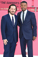 Writer/director Edgar Wright &amp; actor Jamie Foxx at the European premiere for &quot;Baby Driver&quot; at Cineworld in London, UK. <br /> 21 June  2017<br /> Picture: Steve Vas/Featureflash/SilverHub 0208 004 5359 sales@silverhubmedia.com