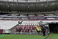 Stewards during West Ham United vs Arsenal, Premier League Football at The London Stadium on 12th January 2019