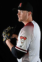 Arizona Diamondbacks Evan Marshall (50) during photo day on February 28, 2016 in Scottsdale, AZ.