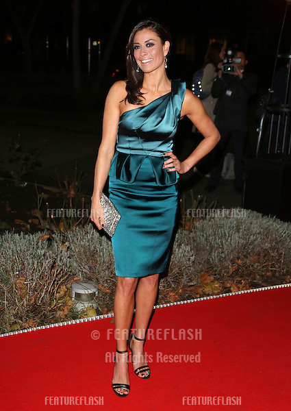 Melanie Sykes arriving for the Night of Heroes: The Sun Military Awards 2012 held at the Imperial War Museum, london, 06/12/2012 Picture by: Henry Harris / Featureflash