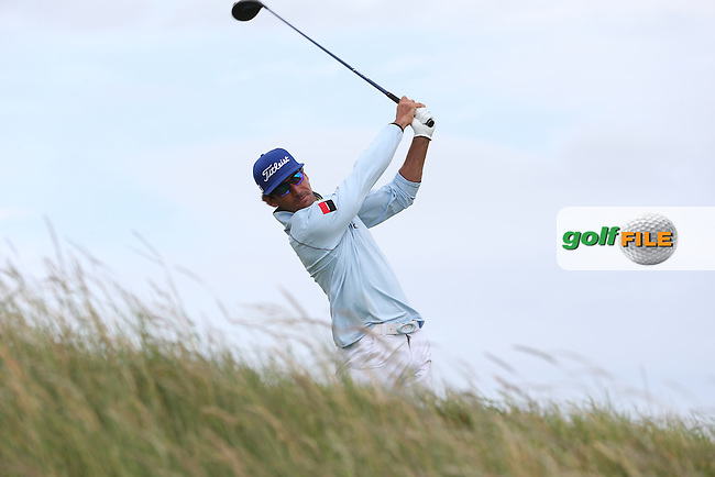 Rafa Cabrera-Bello (ESP) during Round Three of the 2015 Aberdeen Asset Management Scottish Open, played at Gullane Golf Club, Gullane, East Lothian, Scotland. /11/07/2015/. Picture: Golffile | David Lloyd<br /> <br /> All photos usage must carry mandatory copyright credit (&copy; Golffile | David Lloyd)